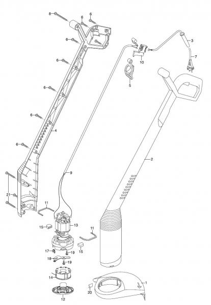 Ersatzteile GARDENA Turbotrimmer smallCut 2401