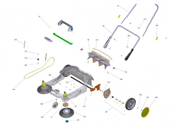 Ersatzteile Kärcher handbetr. Kehrmaschinen Ersatzteile S 6 Twin 9.398-404.0