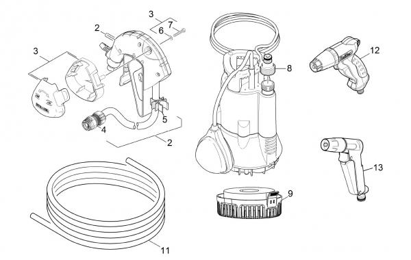 Ersatzteile Kärcher Pumpen Einzelteile BP 1 Barrel Set  1.645-465.0