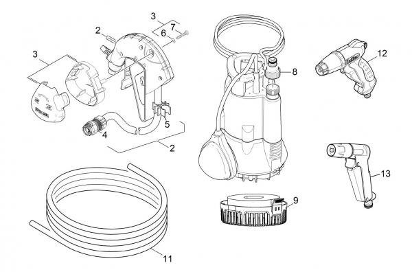 Ersatzteile Kärcher Pumpen Einzelteile BP 1 Barrel Set -II 1.645-466.0