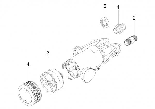 Ersatzteile Kärcher Pumpen Einzelteile BP 2 Cistern  1.645-420.0