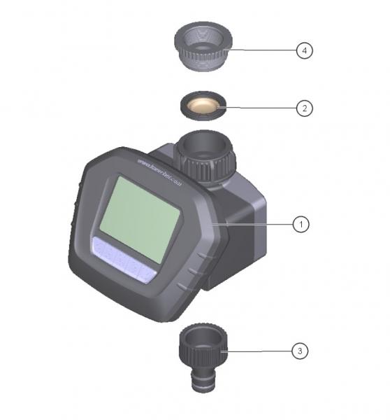 Ersatzteile Kärcher Bewässerungssysteme Einzelteile Bewaesserungsautomat WT 5 2.645-219.0