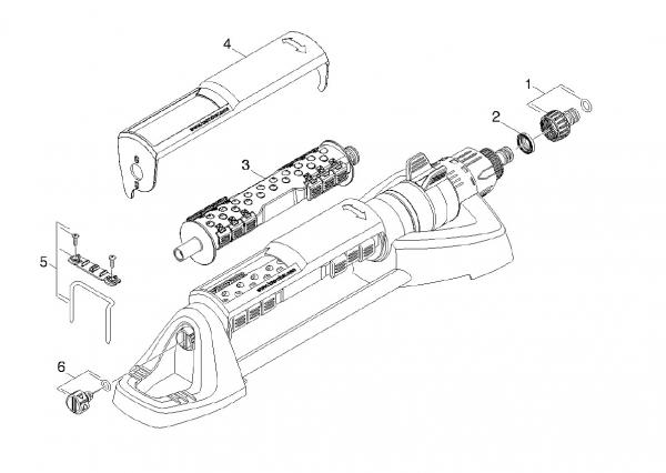Ersatzteile Kärcher Bewässerungssysteme Einzelteile Rechteckregner OS 5.320 SV 2.645-135.0