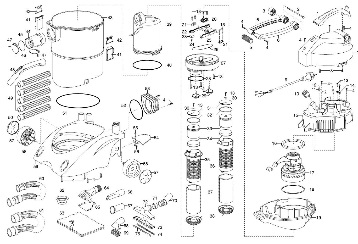 gardena ersatzteile teichschlammsauger sr 2000 7947 ersatzteil fee. Black Bedroom Furniture Sets. Home Design Ideas