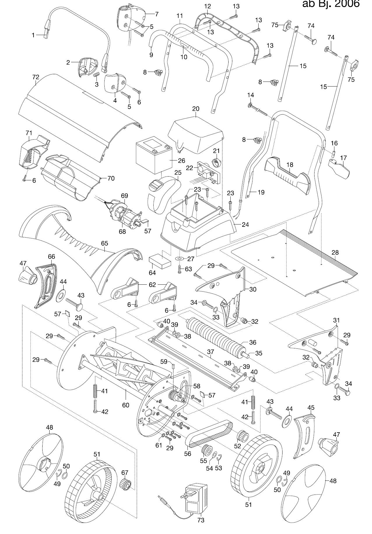 gardena ersatzteile accu spindelm her 380 ac 4026. Black Bedroom Furniture Sets. Home Design Ideas