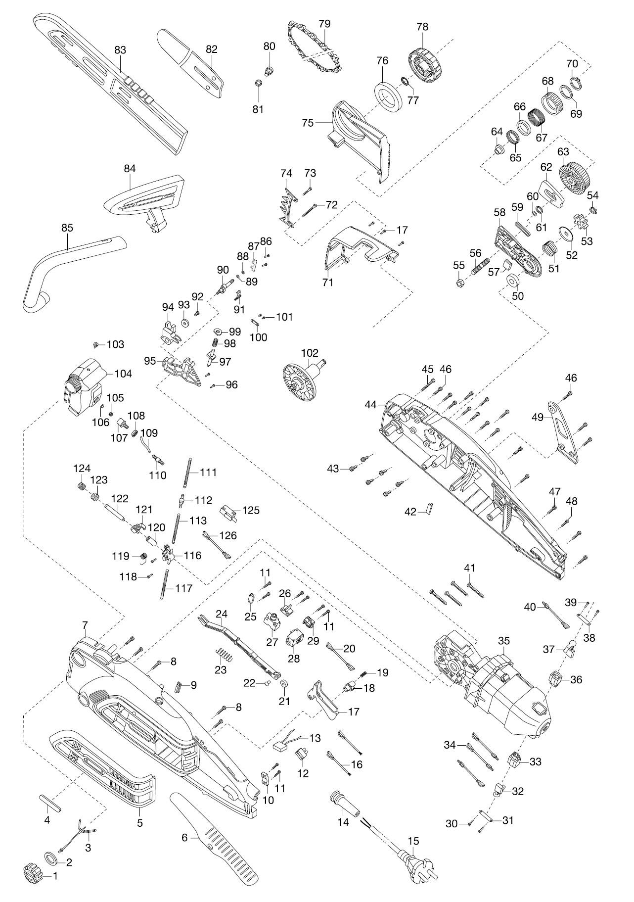ersatzteile gardena elektro kettens ge csi 4020 x 8863 ersatzteil fee. Black Bedroom Furniture Sets. Home Design Ideas