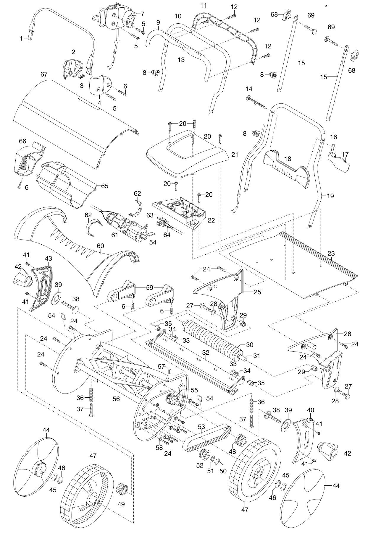 gardena ersatzteile spindelm her 380 ec 4028 ersatzteil fee. Black Bedroom Furniture Sets. Home Design Ideas