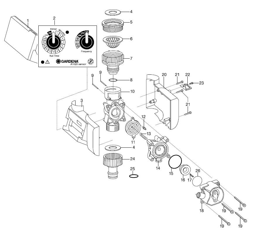 Gardena Water Timer Wt 1030 Instructions