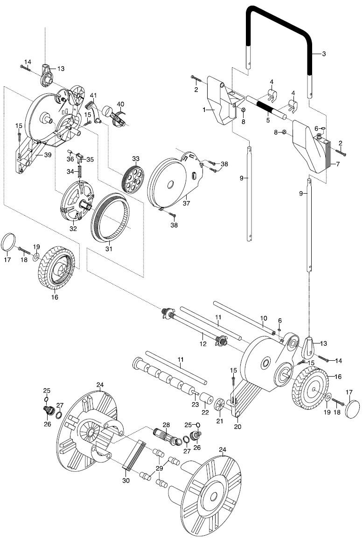 gardena ersatzteile schlauchmobil 70 roll up 2641 2642 ersatzteil fee. Black Bedroom Furniture Sets. Home Design Ideas