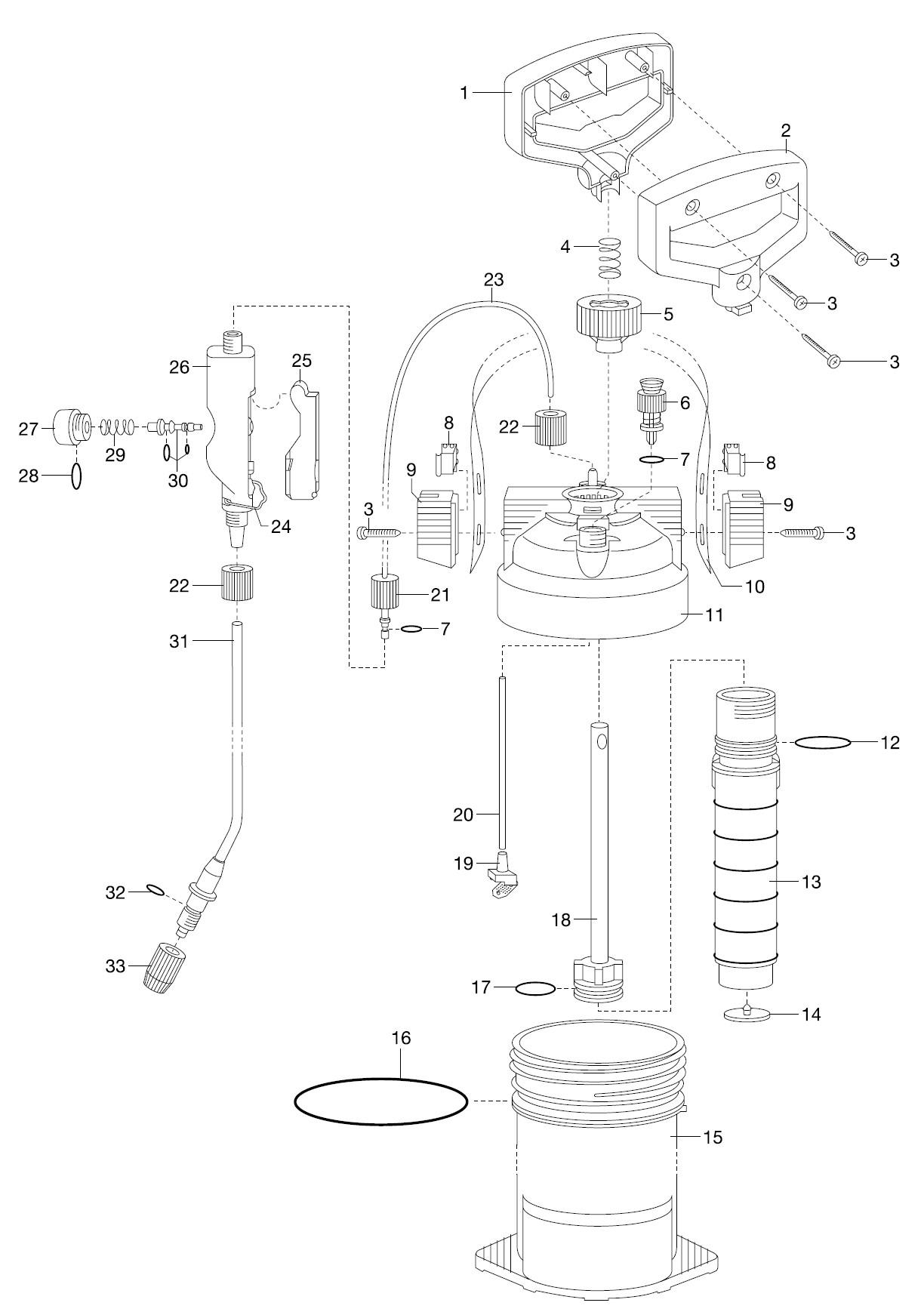 gardena ersatzteile druckspr her 5 l 869 ersatzteil fee. Black Bedroom Furniture Sets. Home Design Ideas