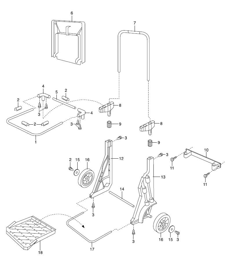 gardena ersatzteile gartenmobil 232 ersatzteil fee. Black Bedroom Furniture Sets. Home Design Ideas
