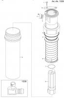 Ersatzteile GARDENA Turbinen-Versenkregner T 200 1538 1539