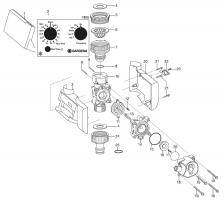 Ersatzteile GARDENA Bewässerungsuhr electronic T 1030 1805