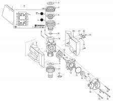 Ersatzteile GARDENA Bewässerungscomputer C 1030 plus 1810