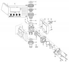Ersatzteile GARDENA Bewässerungscomputer C 1060 profi/solar 1833