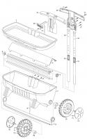 GARDENA Ersatzteile Comfort Streuwagen 500 433