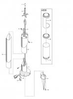 GARDENA Ersatzteile Lightline Zylinderleuchte 4200