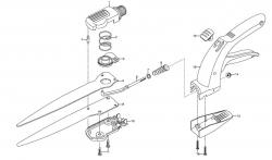 Ersatzteile GARDENA Comfort Grasschere 8733