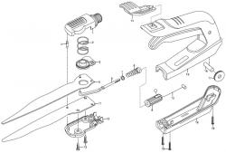 Ersatzteile GARDENA Comfort Grasschere drehbar 8735