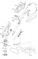 Ersatzteile GARDENA Turbotrimmer classicCut 2402