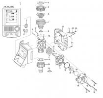 Ersatzteile GARDENA Bewässerungscomputer C 1030 plus 1862