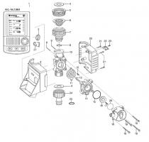 Ersatzteile GARDENA Bewässerungscomputer C 1060 plus 1864