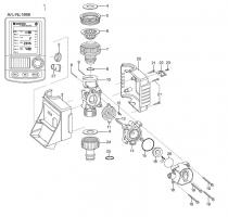 Ersatzteile GARDENA Bewässerungscomputer C 1060 plus solar 1866
