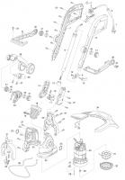Ersatzteile GARDENA Turbotrimmer ComfortCut 450 8847