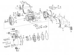 Ersatzteile GARDENA Gartenpumpe 4000/4 Jet 1429