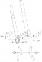 Ersatzteile GARDENA Comfort Astschere 500 BL 8770