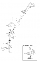 Ersatzteile GARDENA V12 Rasenschneider RL 10 2155/2253