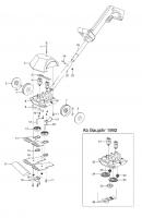 Ersatzteile GARDENA V12 Rasenschneider RL 20 2165/2255