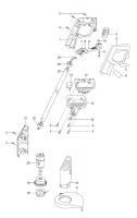 Ersatzteile GARDENA V12 Trimmer TL 21 2169/2263