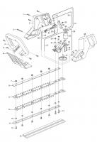 Ersatzteile GARDENA V12 Heckenschere HS 36 2185/2260