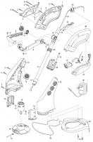 Ersatzteile GARDENA Turbotrimmer accuCut 2417