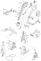 Ersatzteile GARDENA Turbotrimmer AccuCut 400Li 8840