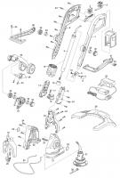 Ersatzteile GARDENA Turbotrimmer AccuCut 450Li 8841