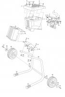 Ersatzteile GARDENA Leise-Powerhäcksler S 2000 S 3980 3981