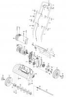 GARDENA Ersatzteile Elektro Vertikutierer EVC 1000/30 4062