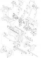 GARDENA Ersatzteile Elektro Vertikutierer EVC 1000 4068