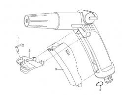 Ersatzteile GARDENA Impulsspritze 8100