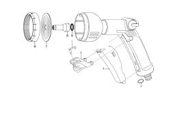 Ersatzteile GARDENA Spritz Brause 8102