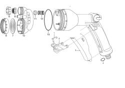 Ersatzteile GARDENA Multifunktions-Brause 8106 bis Bj. 2008