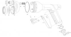 Ersatzteile GARDENA Metall-Multifunktionsbrause 8107
