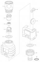 Ersatzteile GARDENA Wassermengenzähler 8188