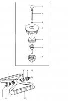 Ersatzteile GARDENA Comfort Kreisregner Vario 1948