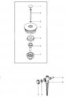Ersatzteile GARDENA Comfort Kreisregner Vario 1949
