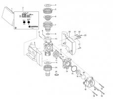 Ersatzteile GARDENA Bewässerungsuhr electronic C14e 1820