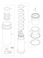 Ersatzteile GARDENA Turbinen-Versenkregner 380 1550