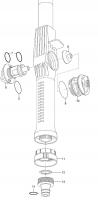Ersatzteile GARDENA Cleansystem Wasserstiel 150 cm 5550